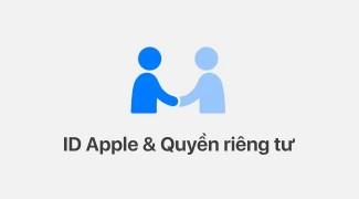 Sao dữ liệu tài khoản Apple