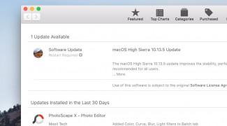 Messeages in iCloud đã có trên macOS 11.13.5
